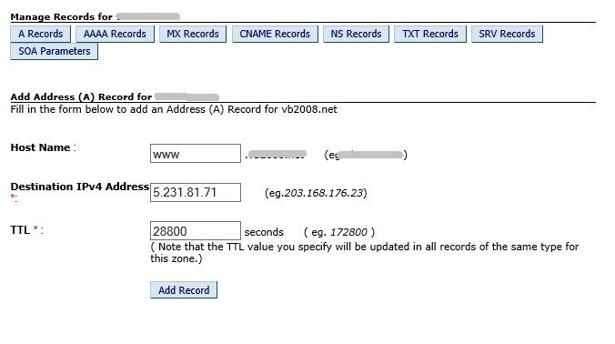 a-record
