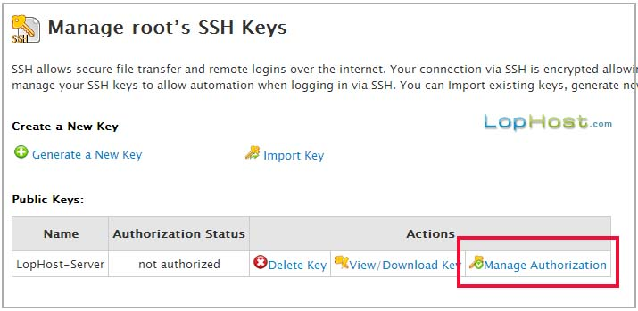 authorize-ssh-key