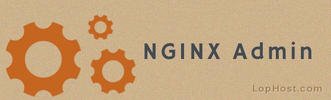 nginx-admin