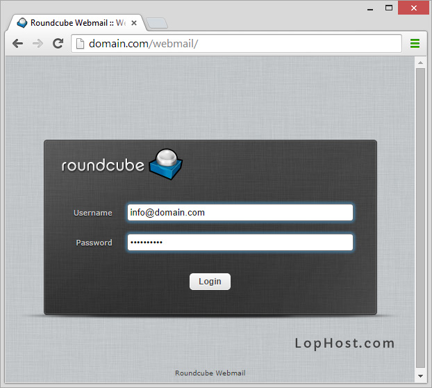 How to create and access email accounts in Vesta Control Panel – LopHost