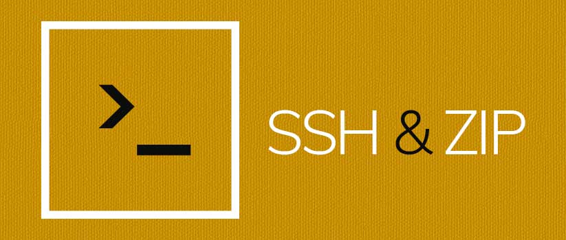 ssh-and-zip